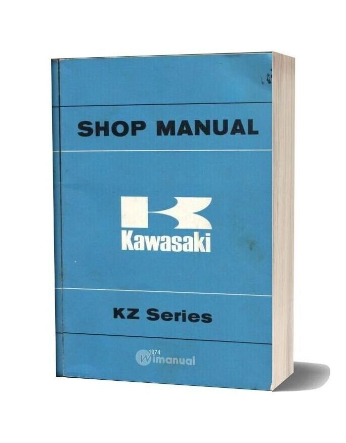 Kawasaki Kz400 74 Service Manual