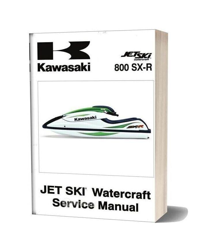 Kawasaki Service Manual Sxr