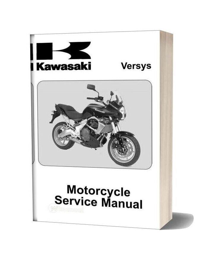 Kawasaki Versys Service Manual