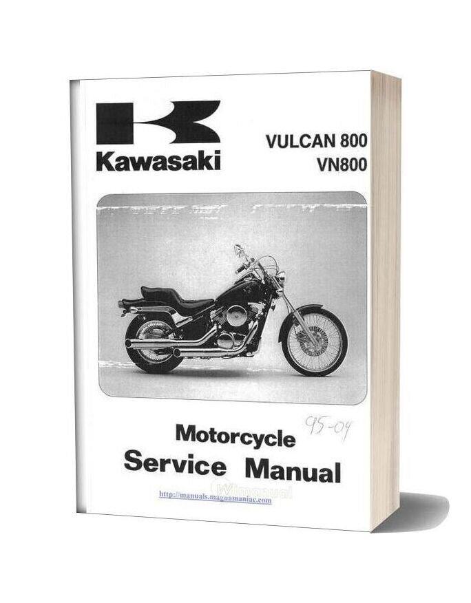 Kawasaki Vn 800 96 04 Service Manual