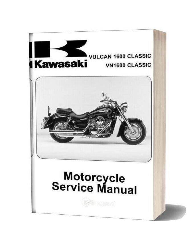 Kawasaki Vn1600 A1&A2 2003 Service Manual