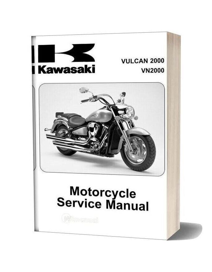Kawasaki Vn2000 A1 2003 Service Manual