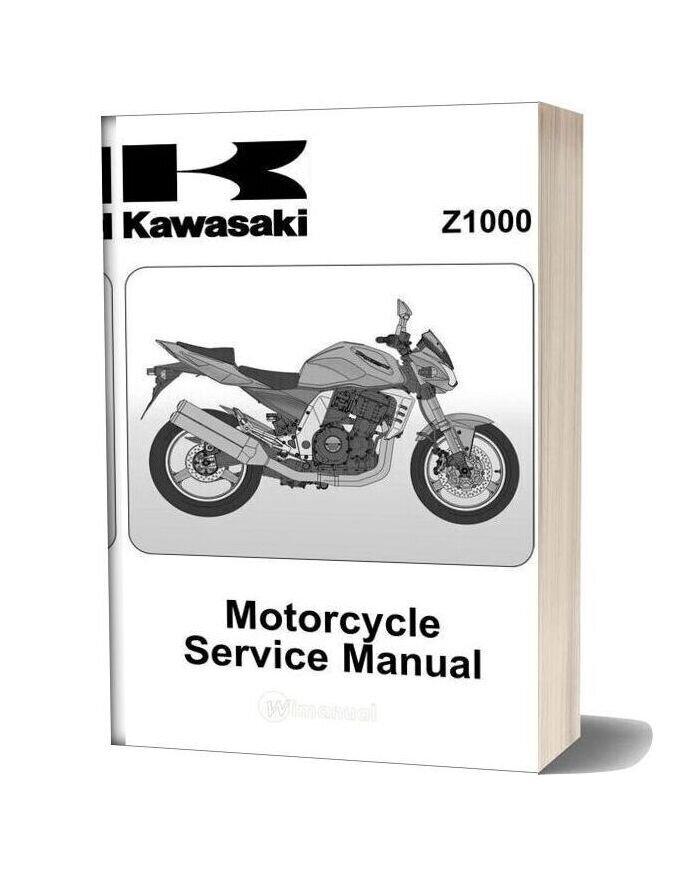 Kawasaki Z1000 Shop Manual
