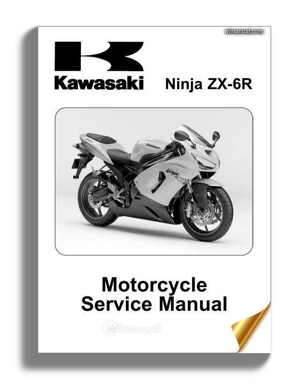 Kawasaki Zx 6r 05 Service Manual