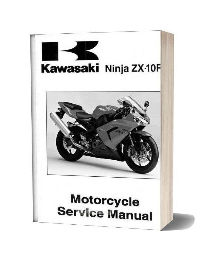 Kawasaki Zx10r 2004 Service Manual