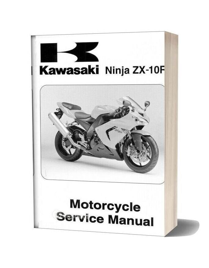Kawasaki Zx10r Ninja 2004 Service Manual