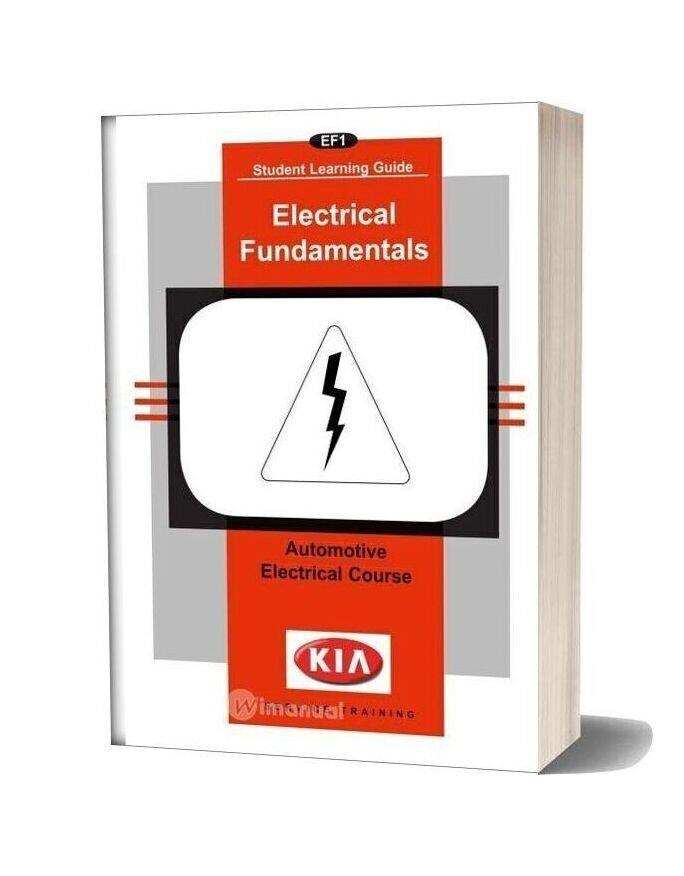 Kia Booklet Electrical Fundamentals