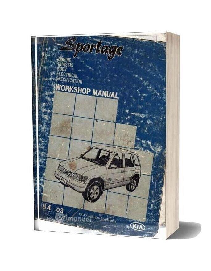 Kia Sportage 1994 Workshop Manual Modified