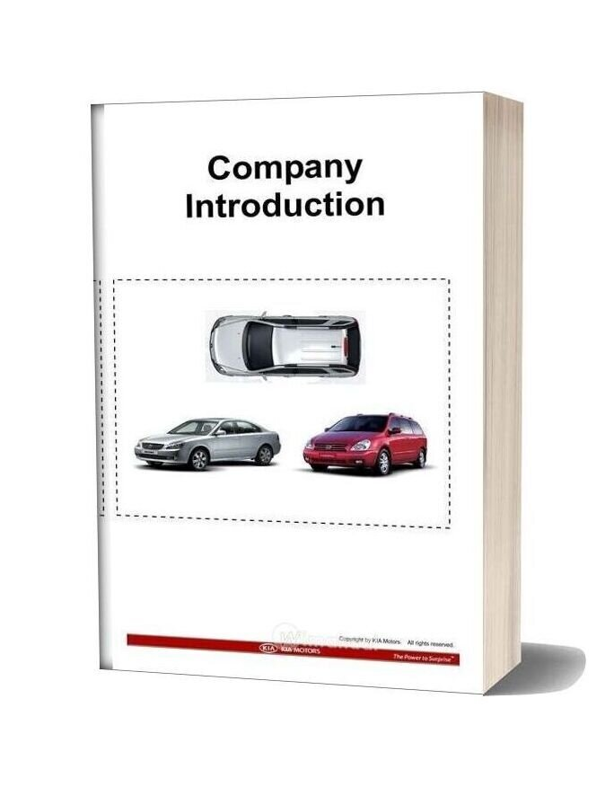 Kia Training Step 1 Company Introduction