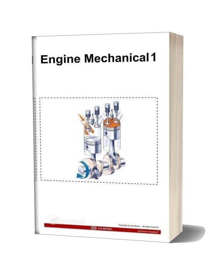 Kia Training Step 1 Engine Mechanical 1