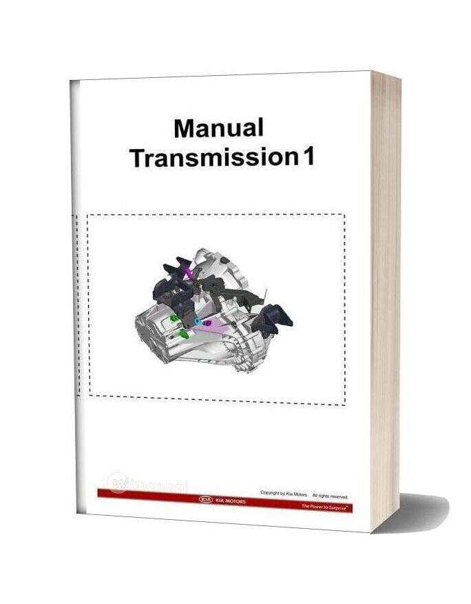 Kia Training Step 1 Manual Transmission 1 2009