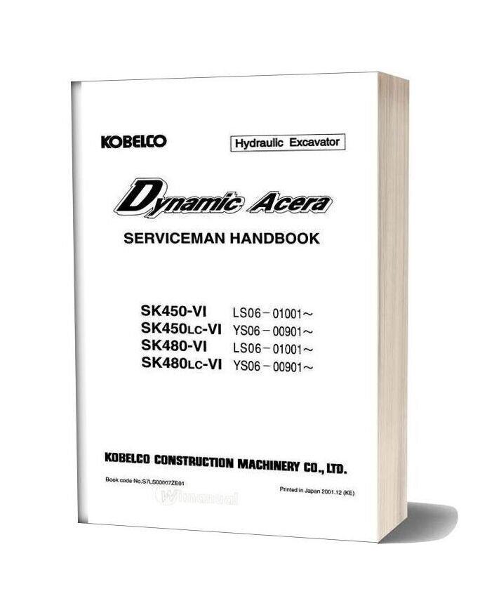 Kobelco 480 6 Serviceman Handbook