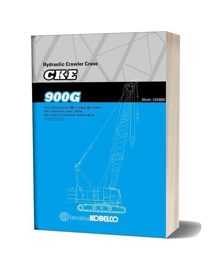 Kobelco Hydraulic Crawler Crane Cke900g Specifications