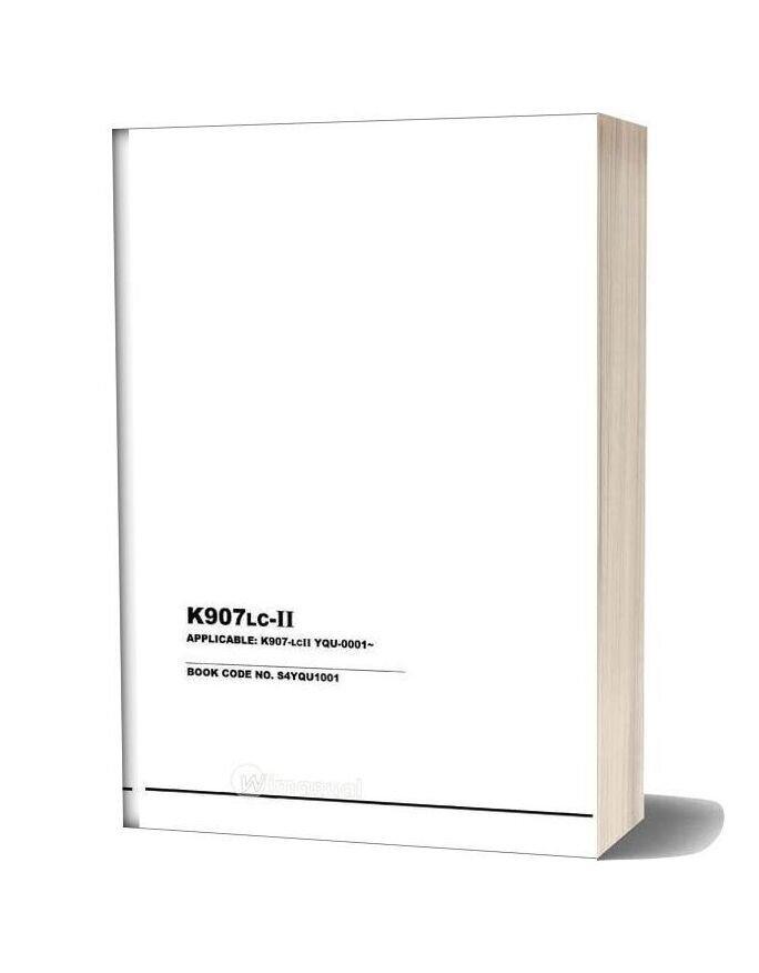 Kobelco K907lc Ii Hyd Exc