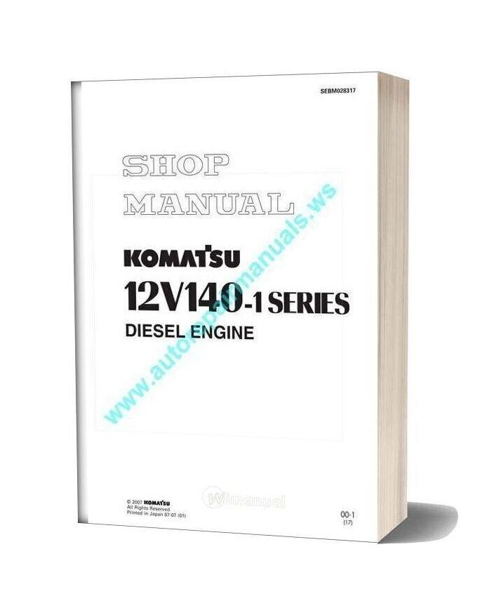 Komatsu 12v140e 1 Service Manual