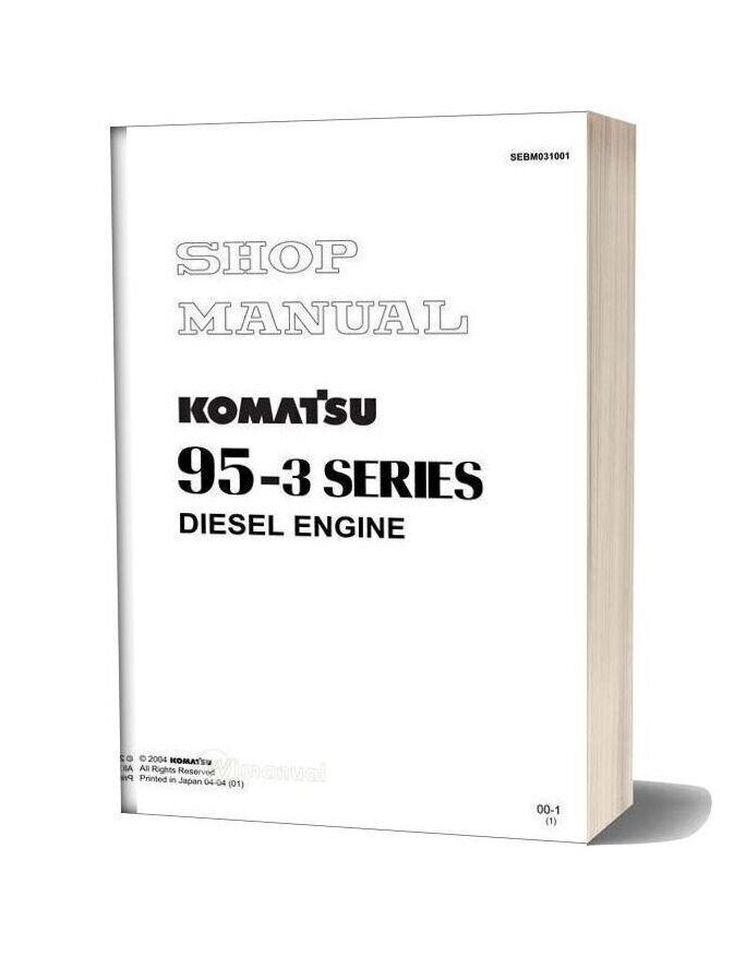 Komatsu 95 3 Series Engine Motor