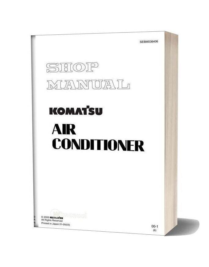 Komatsu Air Conditioner Workshop Manuals