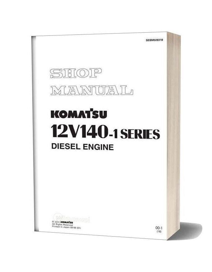 Komatsu Engine 12v140 1 Workshop Manuals