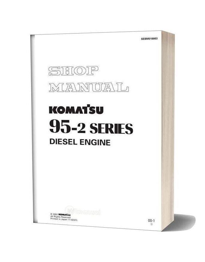 Komatsu Engine 4d95le 2 Workshop Manuals on