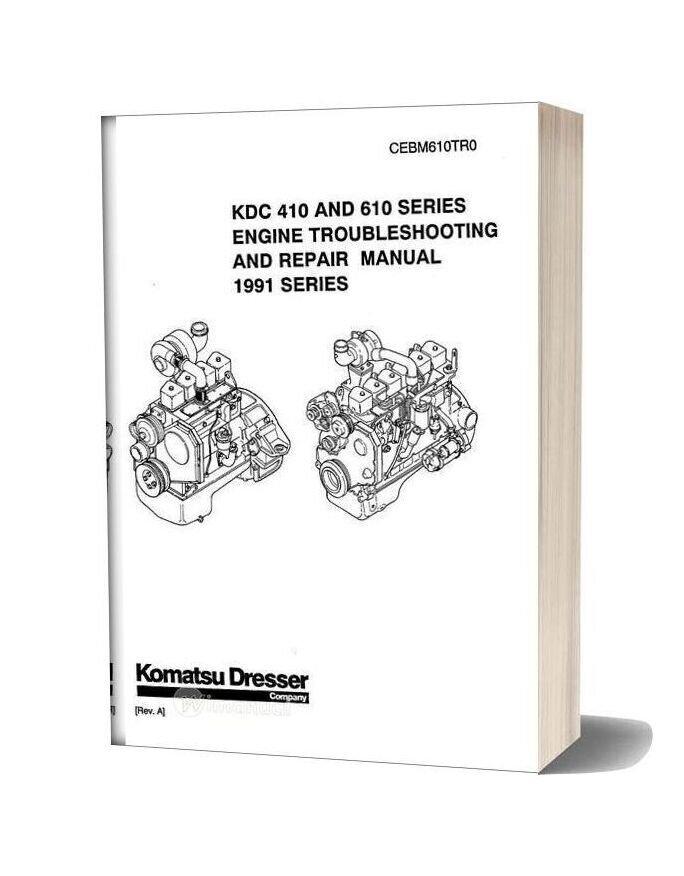 Komatsu Engine 610 Workshop Manuals 3