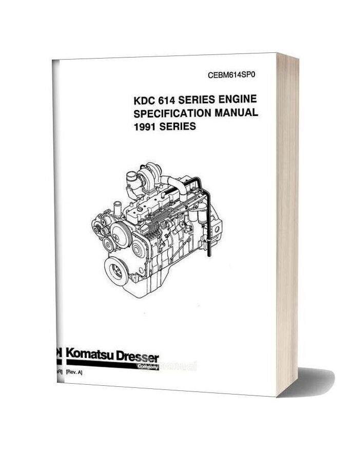 Komatsu Engine 614 Workshop Manuals 2