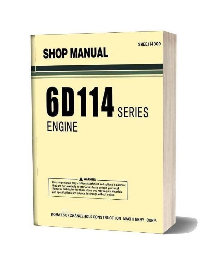 Komatsu Engine 6d114 Series Workshop Manuals 1