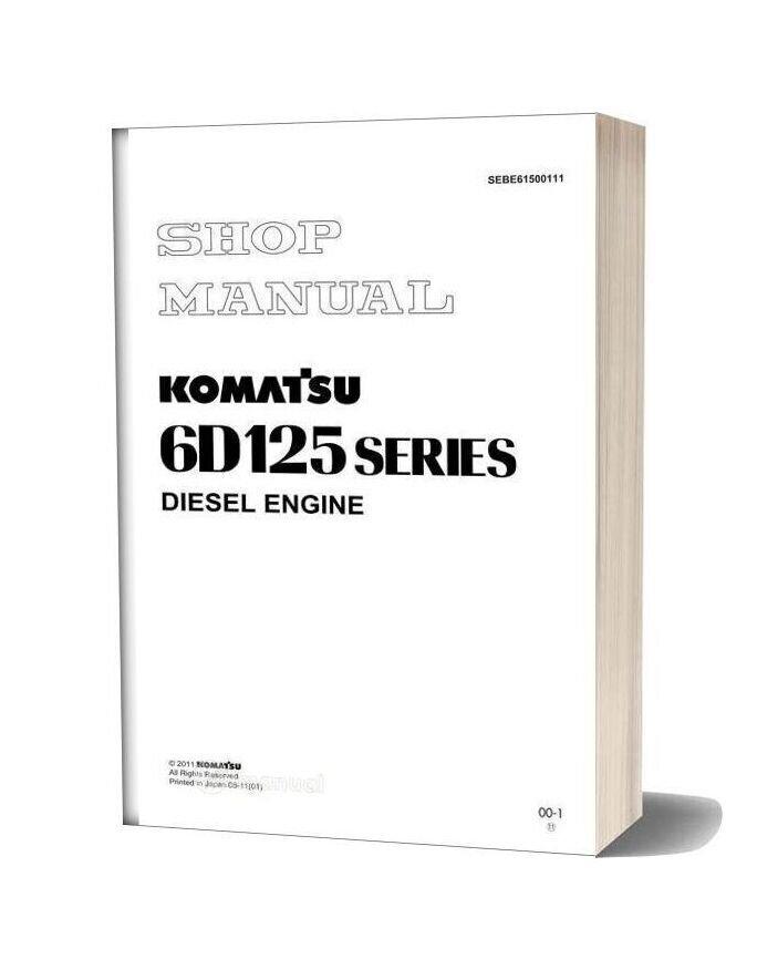 Komatsu Engine 6d125 1 Workshop Manuals 2
