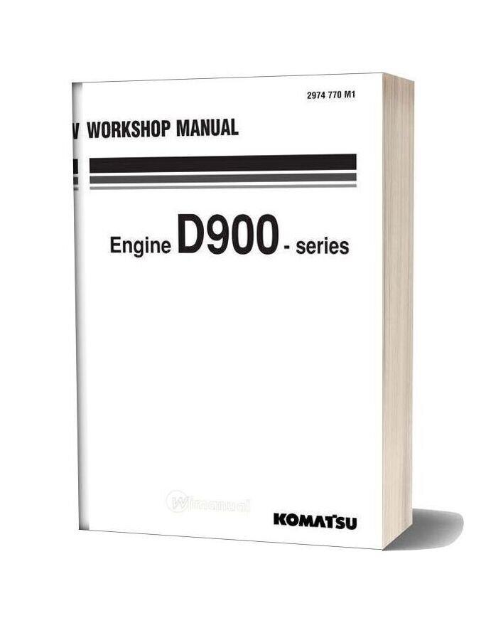 Komatsu Engine D963 Workshop Manuals