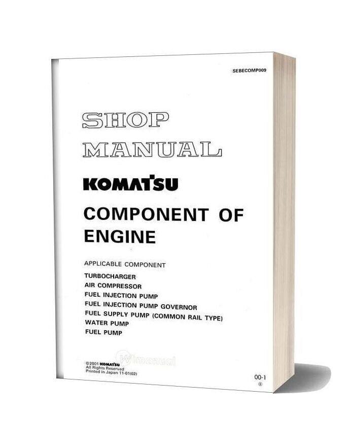Komatsu Engine Engine Comp Workshop Manuals