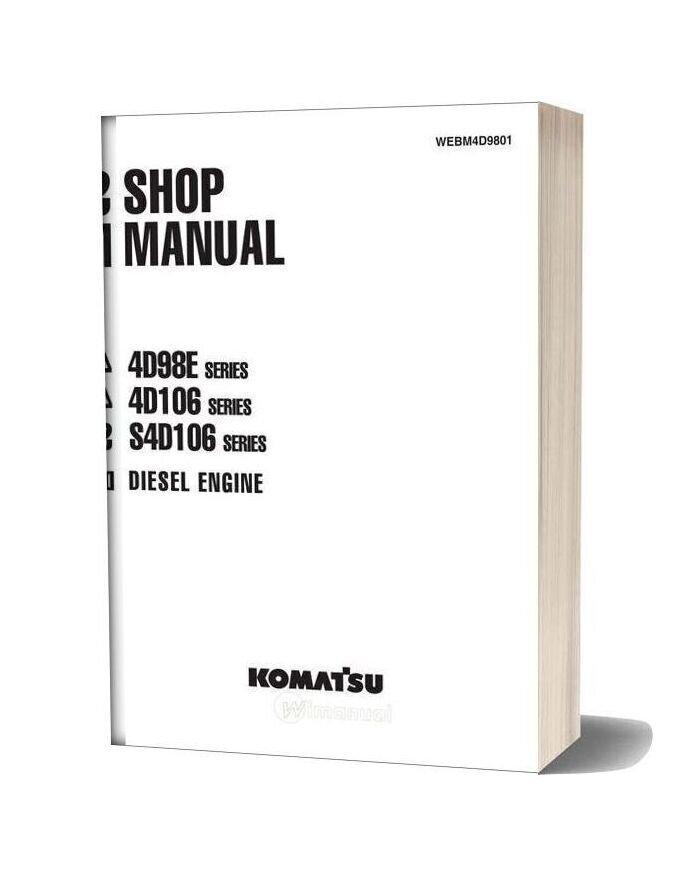 Komatsu Engine S4d106 Workshop Manuals 1