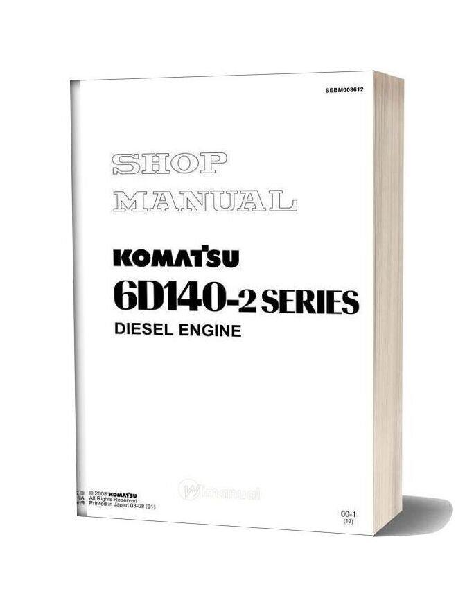 Komatsu Engine Sa6d140 2 Workshop Manuals