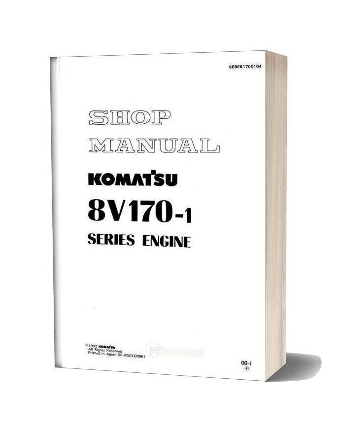 Komatsu Engine Sa8v170 1 Workshop Manuals