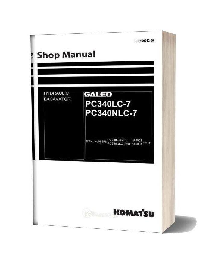 Komatsu Pc340lc 340nlc 7 Shop Manual