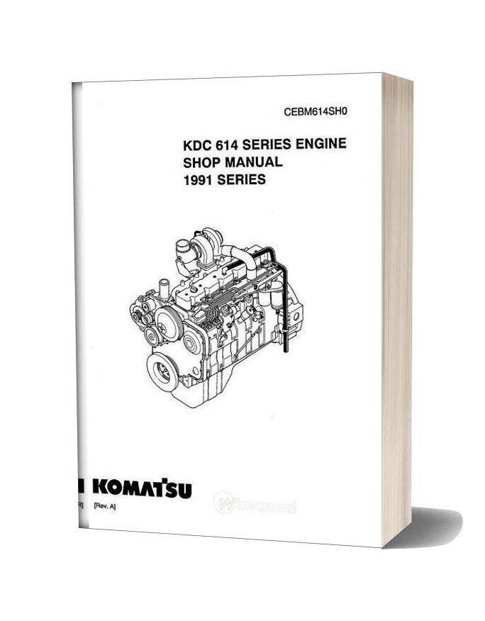 Komatsu Shop Manual Of 614 Series Engine