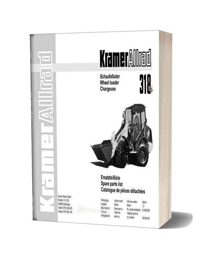 Kramer 318 Serie2 Spare Parts