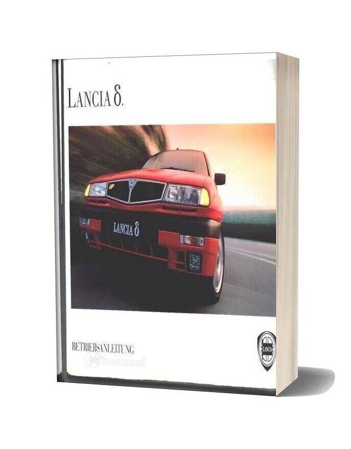 Lancia Delta Workshop Manual