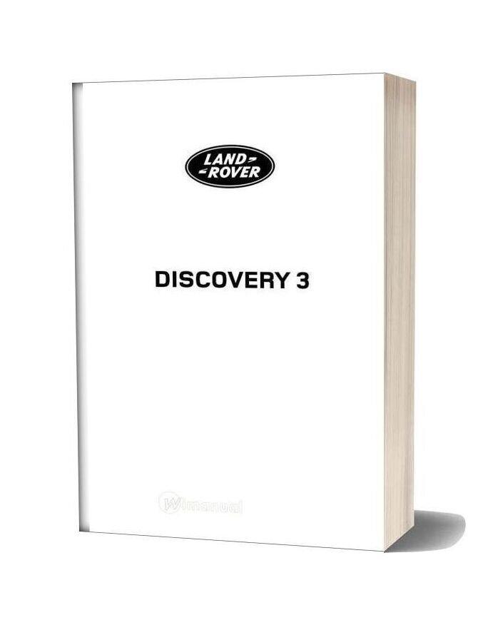 Land Rover 3 Discovery 2006 2009 Repair Manual