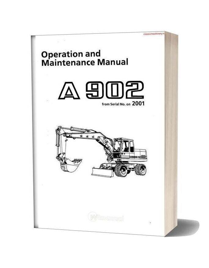 Liebherr A902 Operation Maintenance Sec Wat