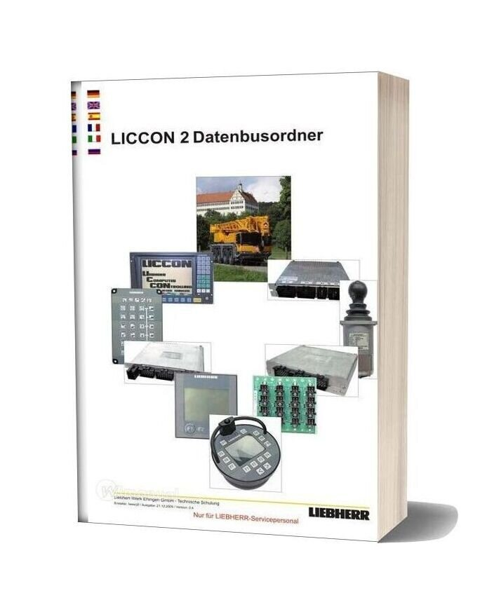 Liebherr Crane Liccon Service Training
