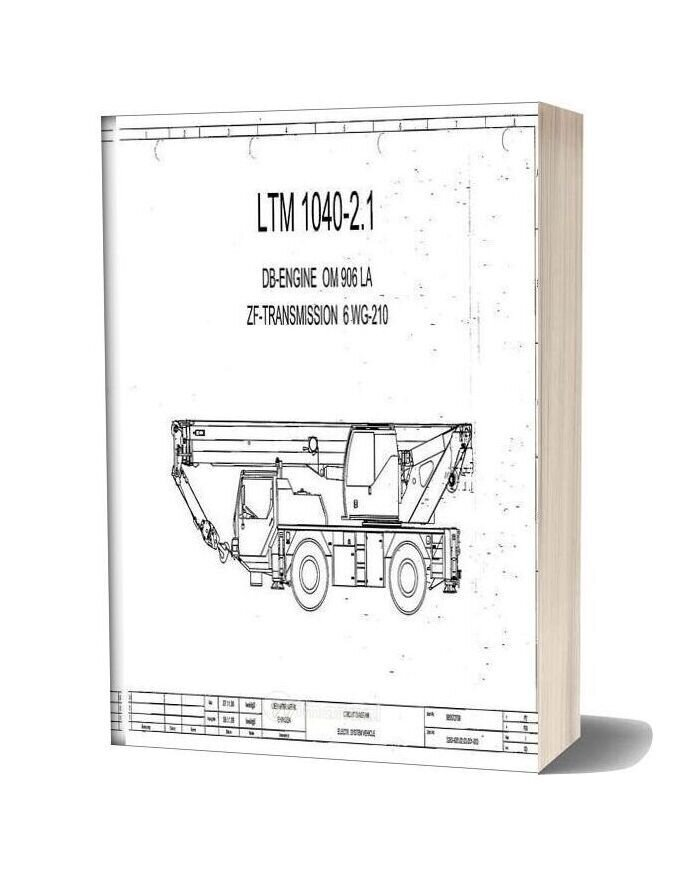 Liebherr Ltm 1040 2 1 Service Manual