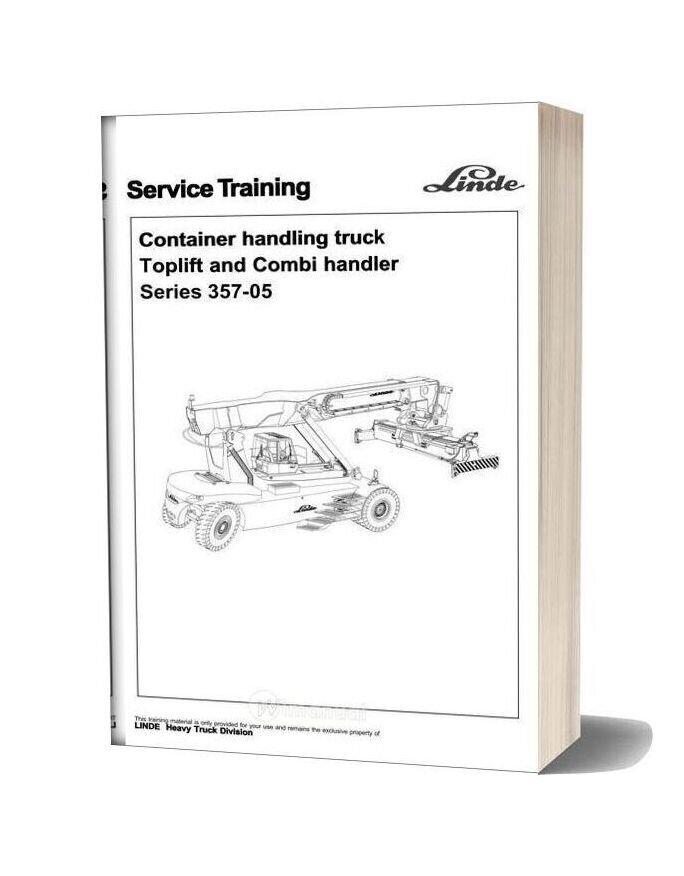 Linde 357 05 Service Training Manual 17 12 09