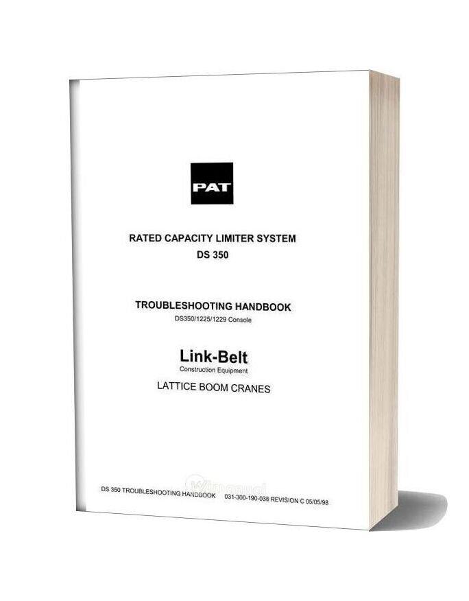 Linkbelt Ds 350 Service