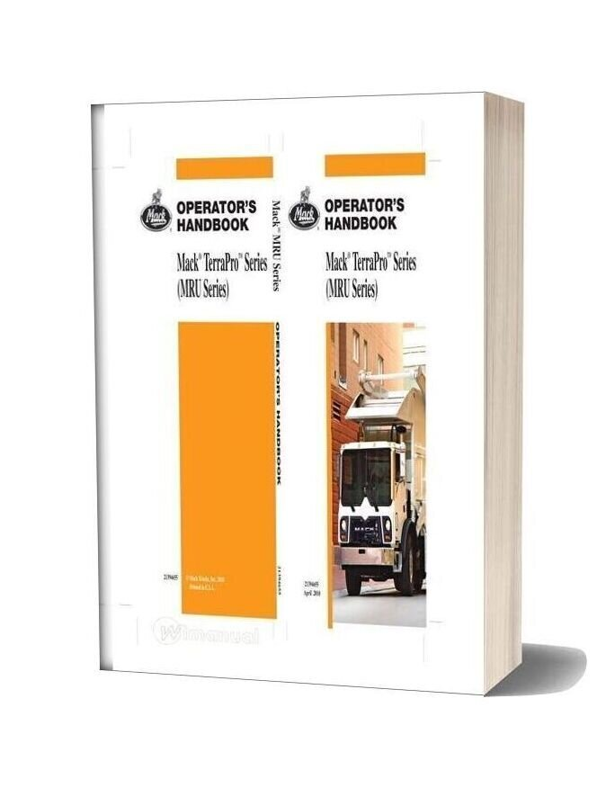 Mack Operators Handbook Mack Terrapro Series Manual