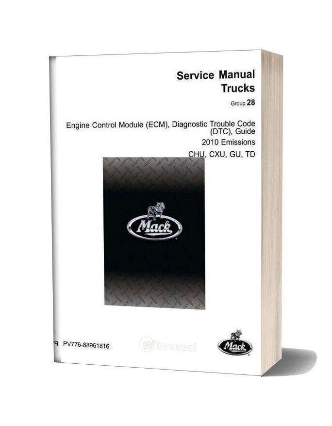 Man Ecm Dtc Truck Guide Manual (Actros Etc)