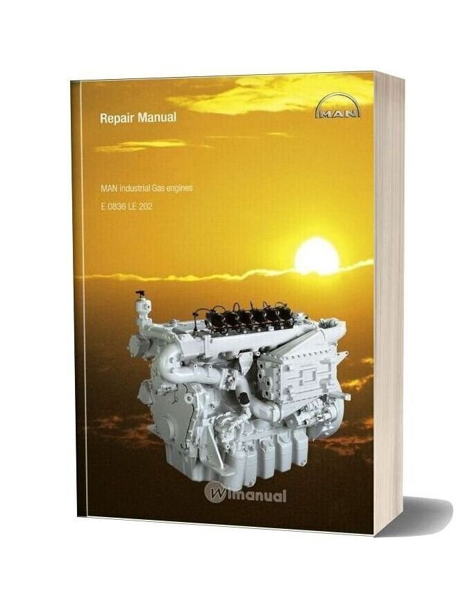 Man Industrial Gas Engines 0836 Le 202 Repair Manual