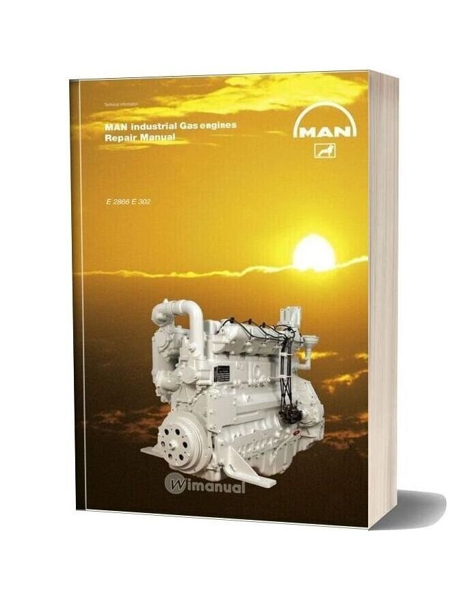 Man Industrial Gas Engines E 2866 E 302 Repair Manual
