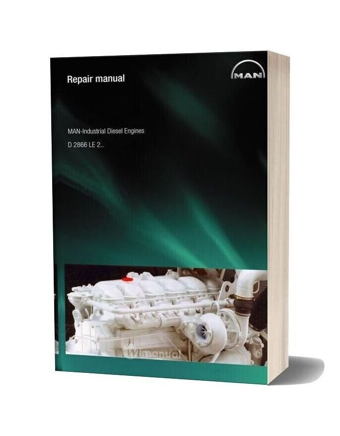 Man Lndustrial Diesel Engines D2866le2 Repair Manual