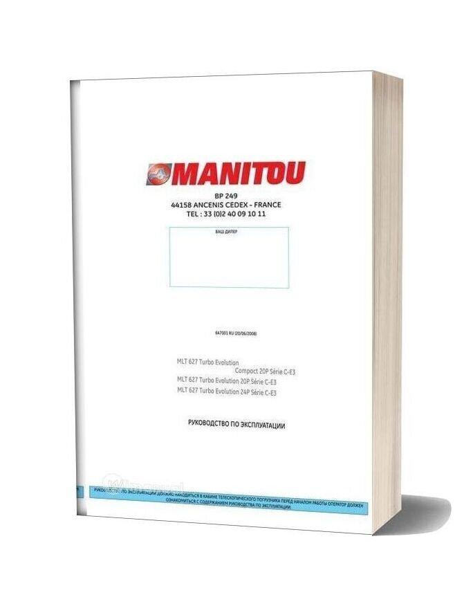 Manitou Mlt 627 Service Manual Ru