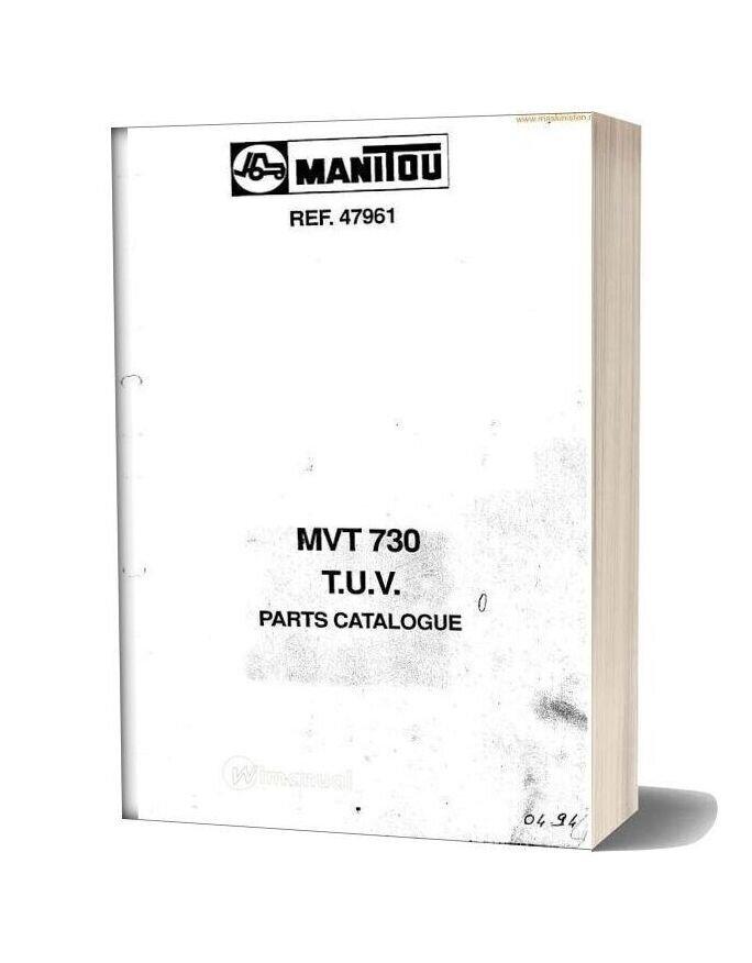 Manitou Mvt730 Parts Sec Wat