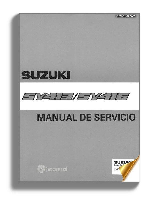 Manual De Taller Y Servicio Suzuki Baleno O Esteem